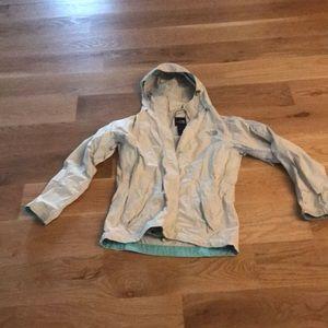 North face rain jacket size small GUC